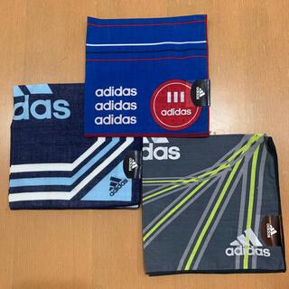 アディダス(adidas)のadidas ハンカチ3枚セット ④(ハンカチ/ポケットチーフ)