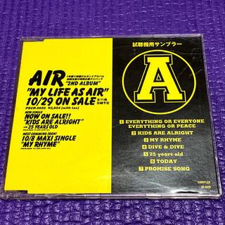 AIR MY LIFE AS AIR サンプラー 車谷浩司 エアー(ポップス/ロック(邦楽))