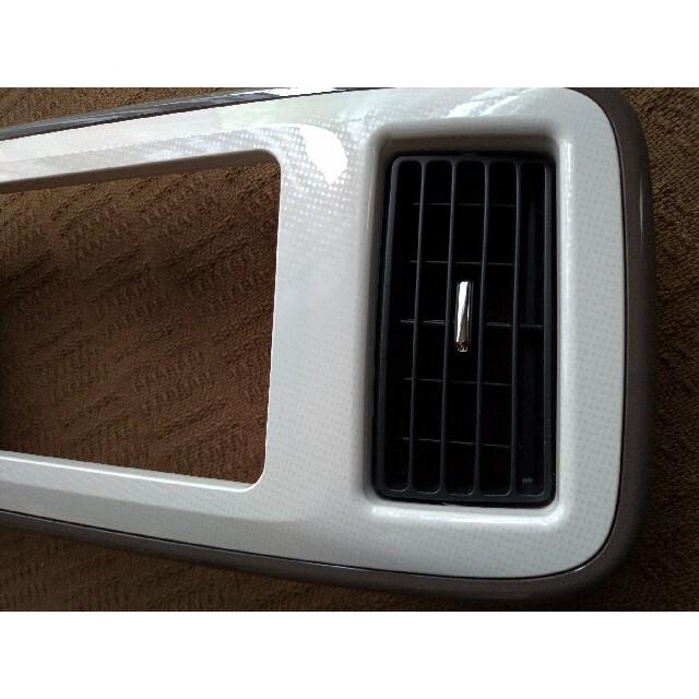 ダイハツ(ダイハツ)のムーヴキャンバス LA800S オーディオパネル 7インチ マイルドモカ 美品 自動車/バイクの自動車(車種別パーツ)の商品写真