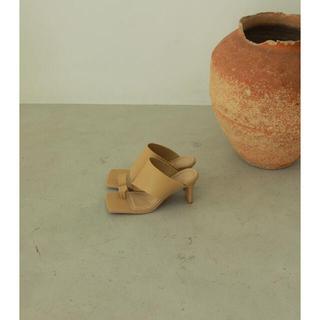 トゥデイフル(TODAYFUL)のtodayful Squaretoe Leather Sandals(サンダル)
