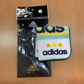 アディダス(adidas)のadidas タオルハンカチセット ⑩(ハンカチ/ポケットチーフ)