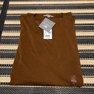 ユニクロ(UNIQLO)のユニクロ mame エアリズム オーバーT(Tシャツ(半袖/袖なし))