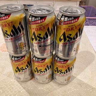 アサヒ - アサヒ スーパードライ 生ジョッキ缶  340ml 6本 6月製造品