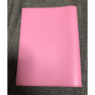 Hermes - エルメス ほぼ未使用 手帳カバー グローブトロッター ピンク