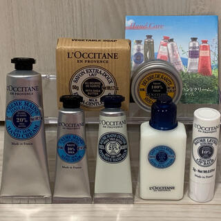 L'OCCITANE - 【ロクシタン♡シア まとめ売り】ハンドクリーム シアバター リップバーム 石鹸