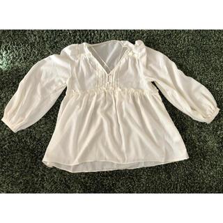 GU - トップス 白 長袖 Sサイズ 新品未使用 GU