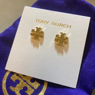 Tory Burch - 正規品 Tory burch トリーバーチロゴピアス 【未使用品】