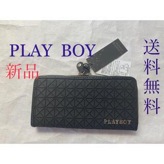 PLAYBOY - ❣️大人気PLAY BOYお洒落な長財布❗️BLACK