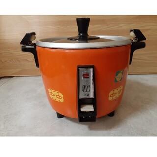 シャープ(SHARP)のSHARP 電気釜 炊飯器 KS-118PV オレンジ色(炊飯器)