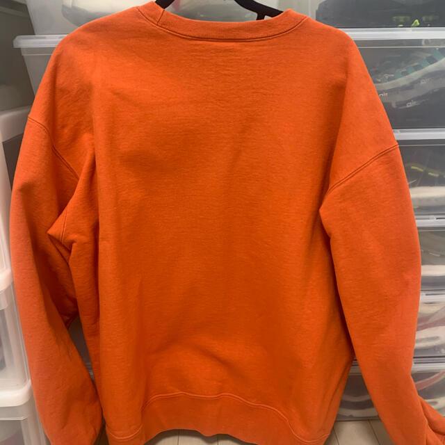 Supreme(シュプリーム)の【XL】Supreme Small Box Crewneck Orange メンズのトップス(スウェット)の商品写真