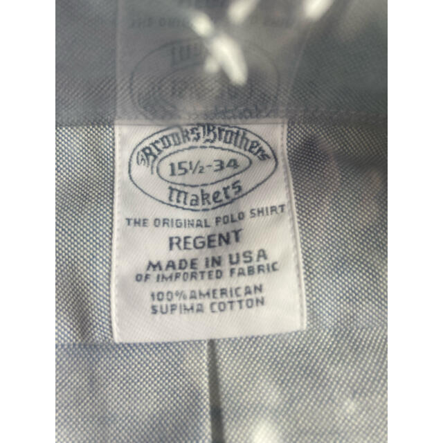 Brooks Brothers(ブルックスブラザース)の【未使用】米国製 Brooks Brothers ボタンダウンシャツ メンズのトップス(シャツ)の商品写真