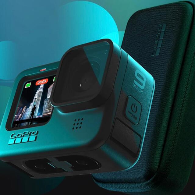 GoPro(ゴープロ)の《新品未使用》GoPro HERO9 (ゴープロ  ヒーロー9) スマホ/家電/カメラのカメラ(コンパクトデジタルカメラ)の商品写真