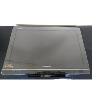 アクオス(AQUOS)のBS CS 地デジ LED液晶テレビ SHARP シャープアクオス LC-19K(テレビ)