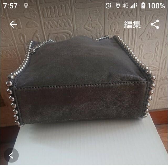 ZARA(ザラ)の美品❤️【ZARA】スタッズ付きチェーンバック レディースのバッグ(ショルダーバッグ)の商品写真