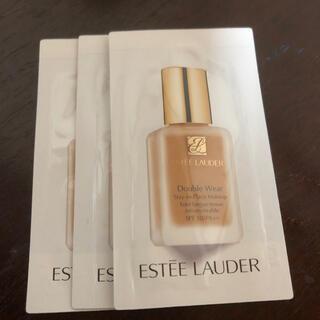 Estee Lauder - エスティローダーダブルウェア サンプル 3包