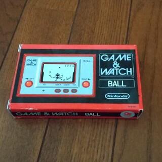 ニンテンドウ(任天堂)のGAME&WATCH BALL(携帯用ゲーム機本体)