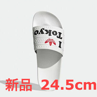 adidas - アディダス アディレッタ 24.5cm 新品・未使用