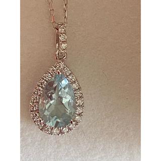 Tiffany & Co. - ダイヤアクアマリンネックレス