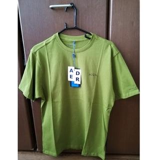 MAISON KITSUNE' - アーダーエラーTシャツ オリーブ A1