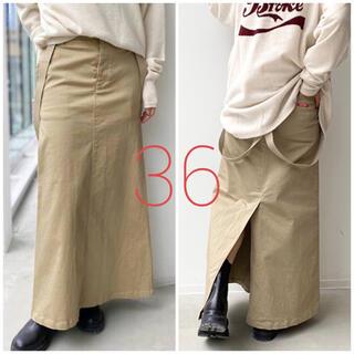L'Appartement DEUXIEME CLASSE - 【最終価格!】未使用*GOOD GRIEF Chino Skirt《36》
