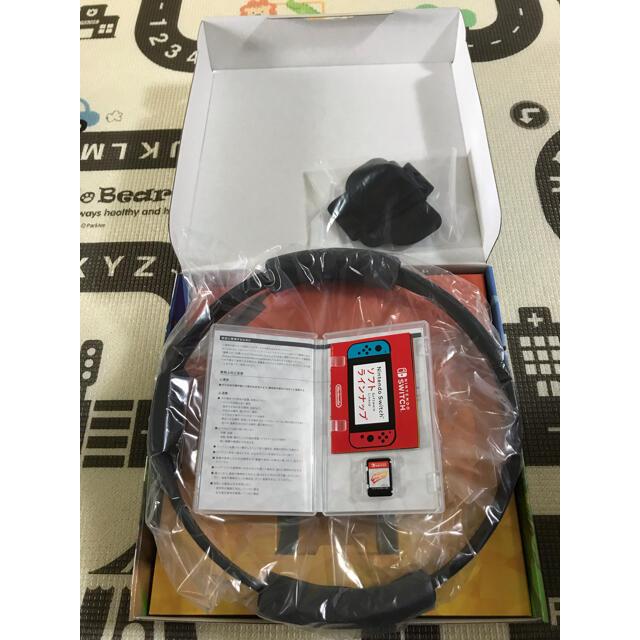 Nintendo Switch(ニンテンドースイッチ)のリングフィットアドベンチャー エンタメ/ホビーのゲームソフト/ゲーム機本体(家庭用ゲームソフト)の商品写真