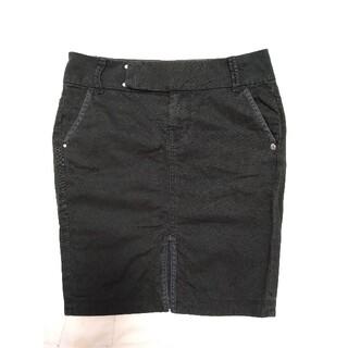 ディーゼル(DIESEL)のディーゼル ブラックタイトスカート!!(ひざ丈スカート)