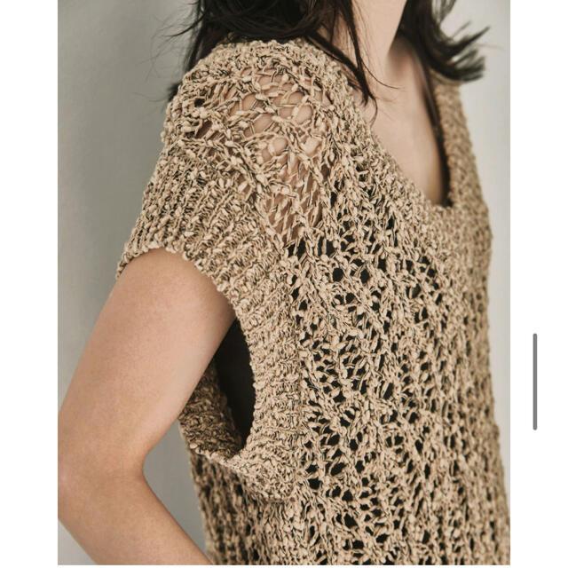 TODAYFUL(トゥデイフル)のCrochet Knit Vest 今期夏物TODAYFUL 新品未使用 レディースのトップス(ベスト/ジレ)の商品写真