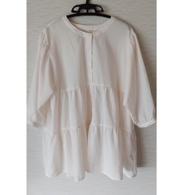 しまむら(シマムラ)のしまむら  ティアードシャツブラウス  レディースのトップス(シャツ/ブラウス(長袖/七分))の商品写真