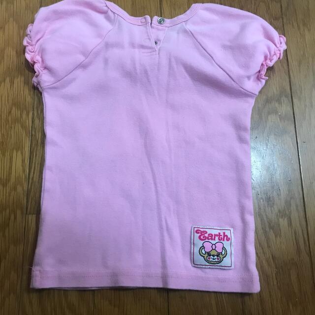 EARTHMAGIC(アースマジック)のアースマジック Tシャツ 80〜90センチ キッズ/ベビー/マタニティのキッズ服女の子用(90cm~)(Tシャツ/カットソー)の商品写真