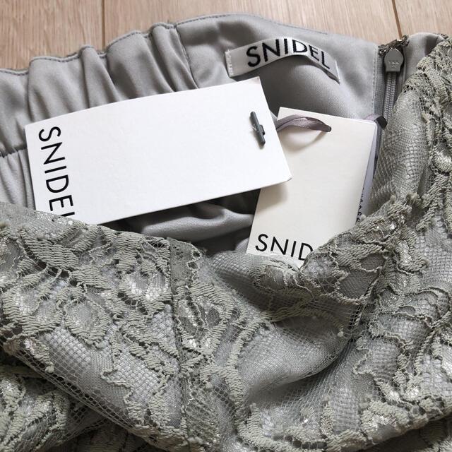 snidel(スナイデル)のスナイデル  店舗限定 レーススカート レディースのワンピース(ひざ丈ワンピース)の商品写真
