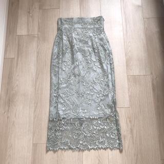 snidel - スナイデル  店舗限定 レーススカート