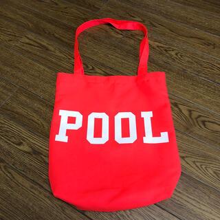 フラグメント(FRAGMENT)の【中古】the pool aoyama トートバッグ fragment バッグ(トートバッグ)