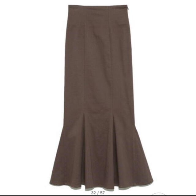 snidel(スナイデル)のSNIDEL ハイウエストヘムフレアスカート マーメイドスカート レディースのスカート(ロングスカート)の商品写真