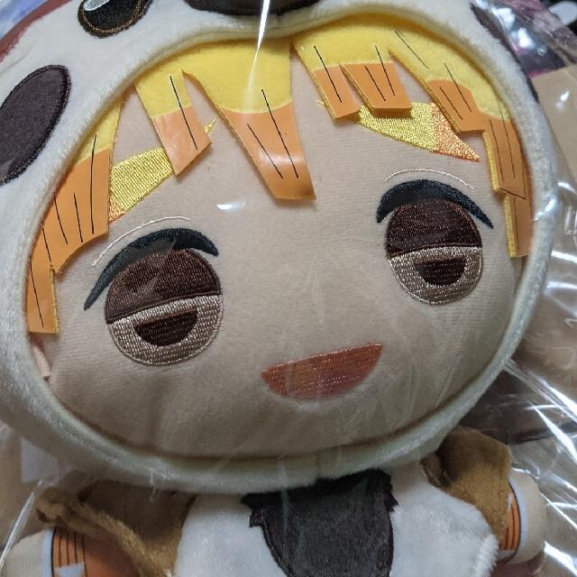 鬼滅の刃 でっかいまねっこ善逸ぬいぐるみ~チュン太郎~ エンタメ/ホビーのおもちゃ/ぬいぐるみ(ぬいぐるみ)の商品写真