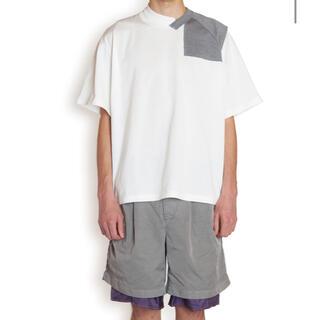カラー(kolor)のkolor 21ss Tシャツ ドッキング クレイジー サイズ2(Tシャツ/カットソー(半袖/袖なし))