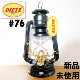 コールマン(Coleman)のDietz #76 デイツ 黒金 ブラック ゴールド オイルランタン 新品(ライト/ランタン)