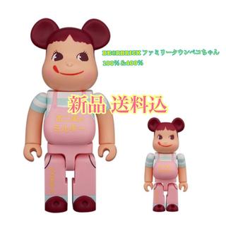 フジヤ(不二家)の182【希少】BE@RBRICK ファミリータウンペコちゃん❗(ぬいぐるみ/人形)