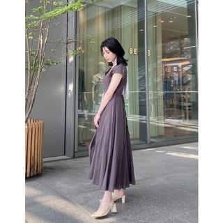 FRAY I.D - 新品☆フレイアイディー☆コットンボイルマチフレアワンピース