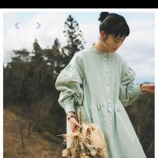 CHILD WOMAN - 【美品】harenoti. ピンタックシャツワンピース