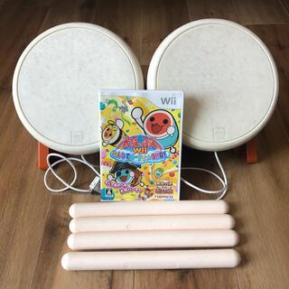 バンダイ(BANDAI)のWii 太鼓の達人 セット(家庭用ゲームソフト)