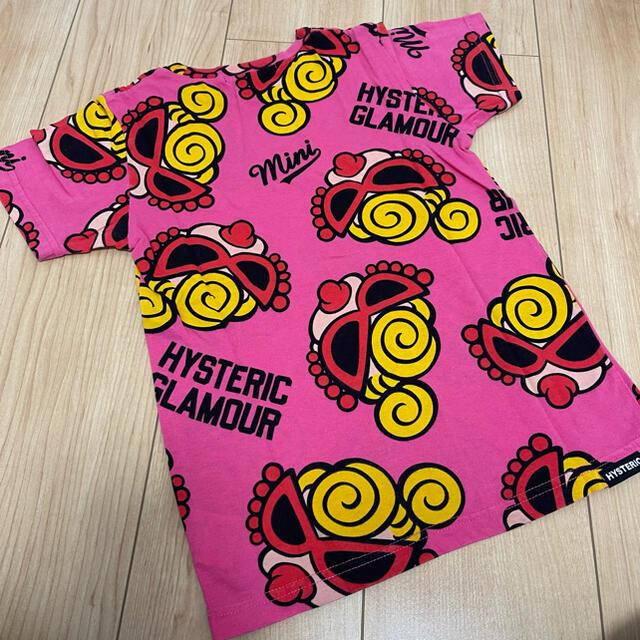HYSTERIC MINI(ヒステリックミニ)のフェイス キッズ/ベビー/マタニティのキッズ服女の子用(90cm~)(Tシャツ/カットソー)の商品写真