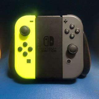 Nintendo Switch - Joycon 左右セット+ハンドルグリップ充電型 純正