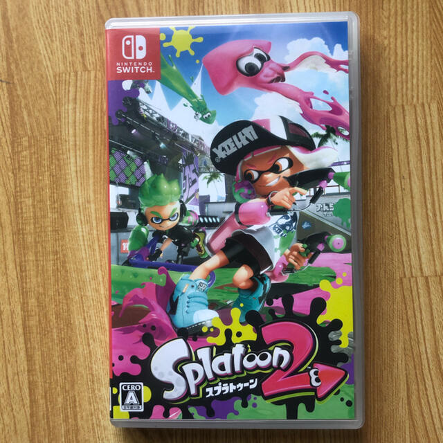 Nintendo Switch(ニンテンドースイッチ)のスプラトゥーン2 ニンテンドースイッチ エンタメ/ホビーのゲームソフト/ゲーム機本体(家庭用ゲームソフト)の商品写真