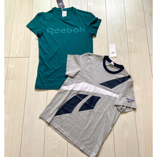 Reebok - 新品 Reebok メンズ Tシャツ 半袖 S まとめ売り グレー グリーン