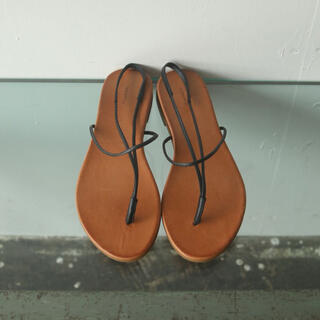 TODAYFUL - todayful / Leather Tong Sandals