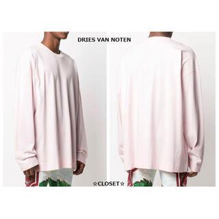 DRIES VAN NOTEN - 人気色 超美品★21SS ドリスヴァンノッテン 今季 オーバーTシャツ メンズ