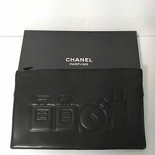 CHANEL - シャネル Chanel ポーチ ノベルティ 黒 ブラック 新品 未使用