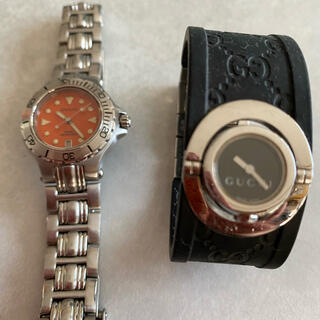 Gucci - グッチ時計二個セット