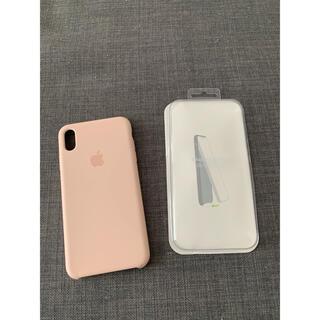 アップル(Apple)のiPhonexsmax Apple純正ケース ピンクサンド(iPhoneケース)
