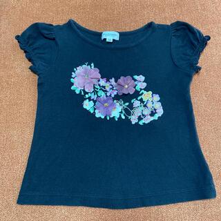 ジルスチュアートニューヨーク(JILLSTUART NEWYORK)のジルスチュアート❤︎可愛い❤︎チュールのお花モチーフ❤︎Tシャツ❤︎110センチ(Tシャツ/カットソー)